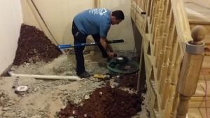 finished baement edison carteret plumbing injector pump installation