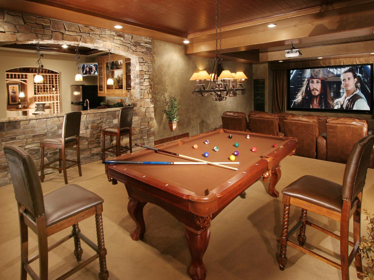 Finished Basement Remodel - Project in Colts Neck, NJ