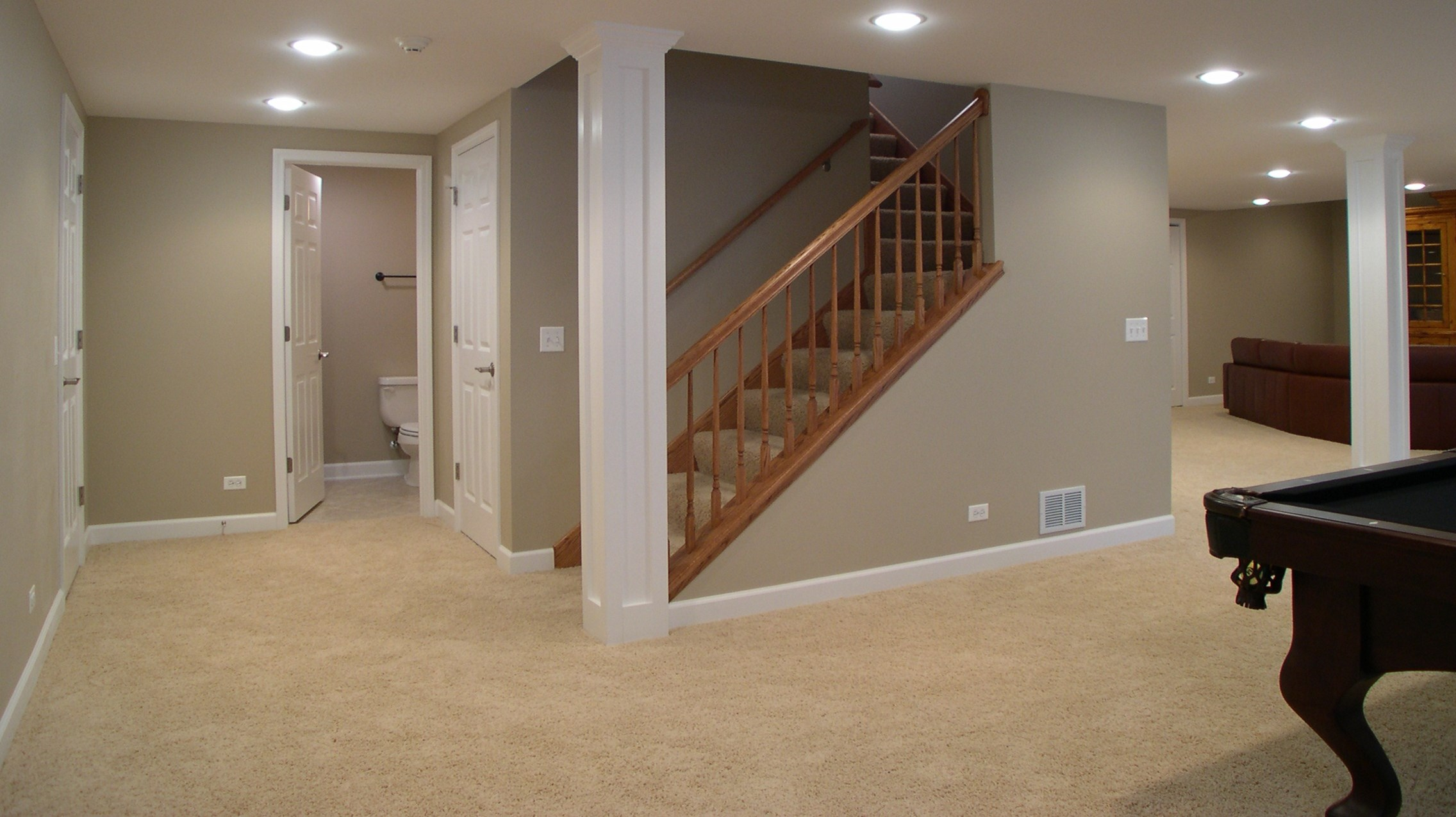 Finished Basement Remodel - Project in South Plainfield, NJ