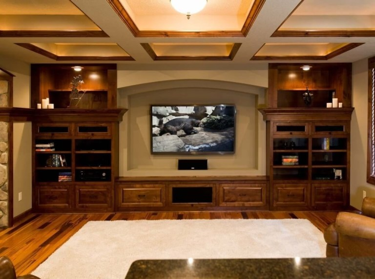 awesome finished basement ideas for home theatre