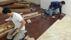 rms contracting hardwood floor installation summit edison woodbridge nj