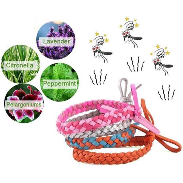 Narukvica protiv komaraca (pletenica)