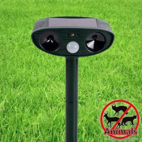Solarni, ultrazvučni rasterivač – ZU2 (Rasterivač pasa, mačaka, sitnih životinja…)