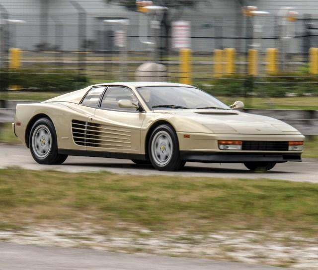 C Bd Ferrari Testarossa