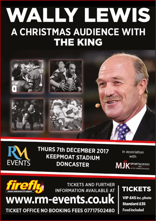 Wally Lewis - A Christmas Audience with the King | RM ...