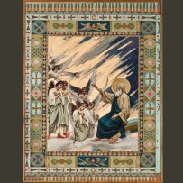 2. П.А. Сведомский. Первый день творения. Отделение света от тьмы. После реставрации.