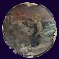 5. П.А. Сведомский. Третий день творения. Сотворение суши и растений. До реставрации.
