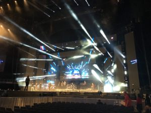 Capital FM JBB 2016 stage rehearsal
