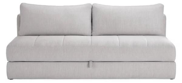 bruno 80 convertible sleeper sofa without mattress topper