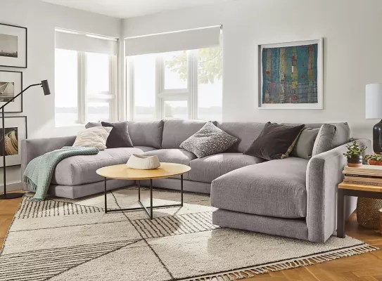clemens extra deep sectional room board