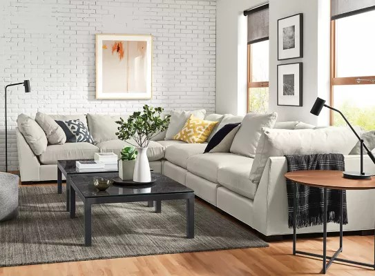 parsons square coffee tables classic