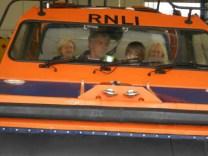 Inside the hovercraft