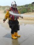 Shower time, RNLI style!