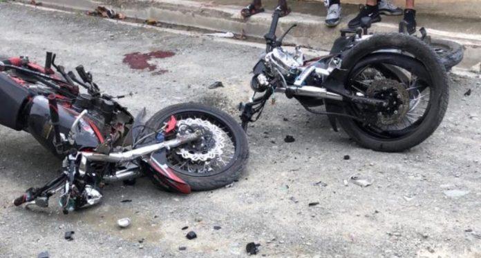accidente de transito motor
