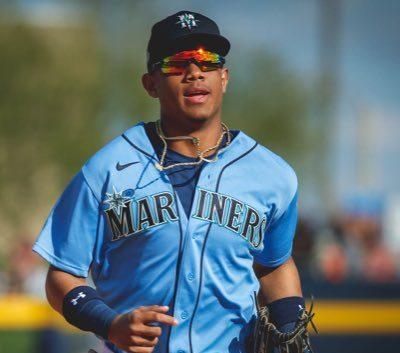 El jardinero dominicano Julio Rodríguez es considerado el quinto mejor prospecto de MLB.  (Foto: AFP)