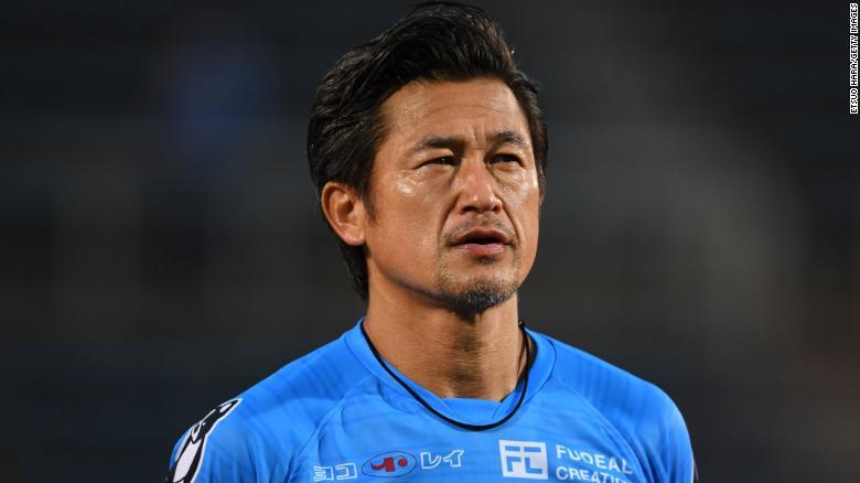 El futbolista japonés Kazuyoshi Miura. (FOTO: Fuente Externa)