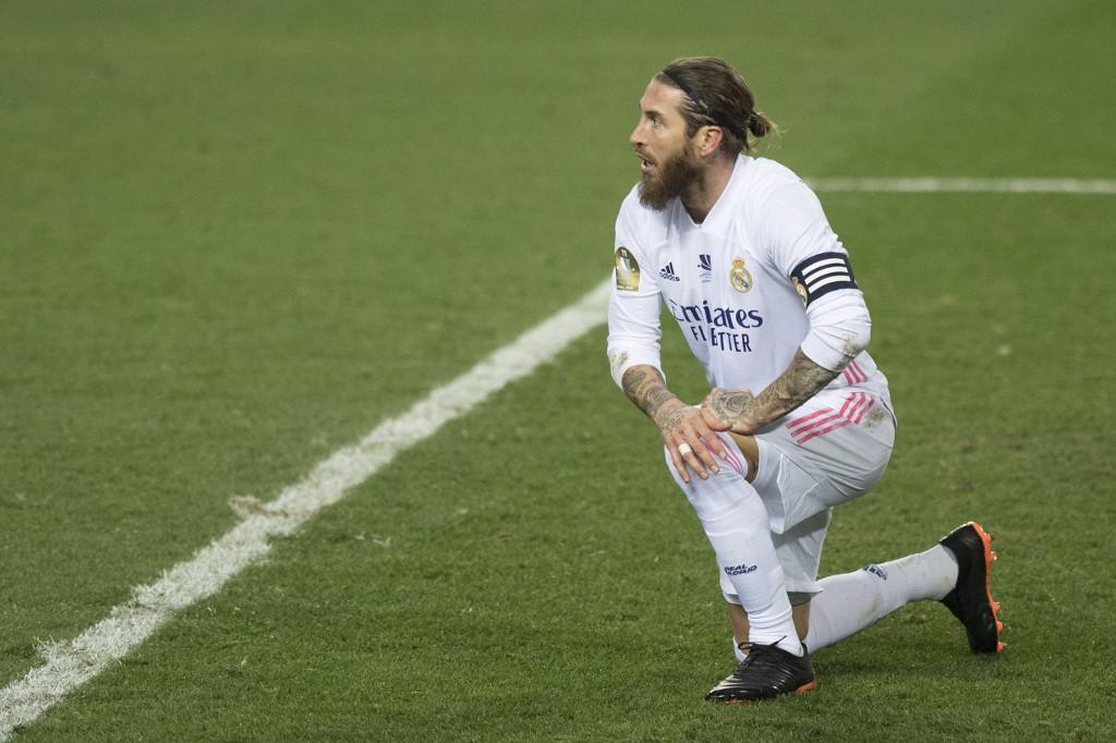 El defensa español del Real Madrid Sergio Ramos. (Foto: JORGE GUERRERO / AFP)