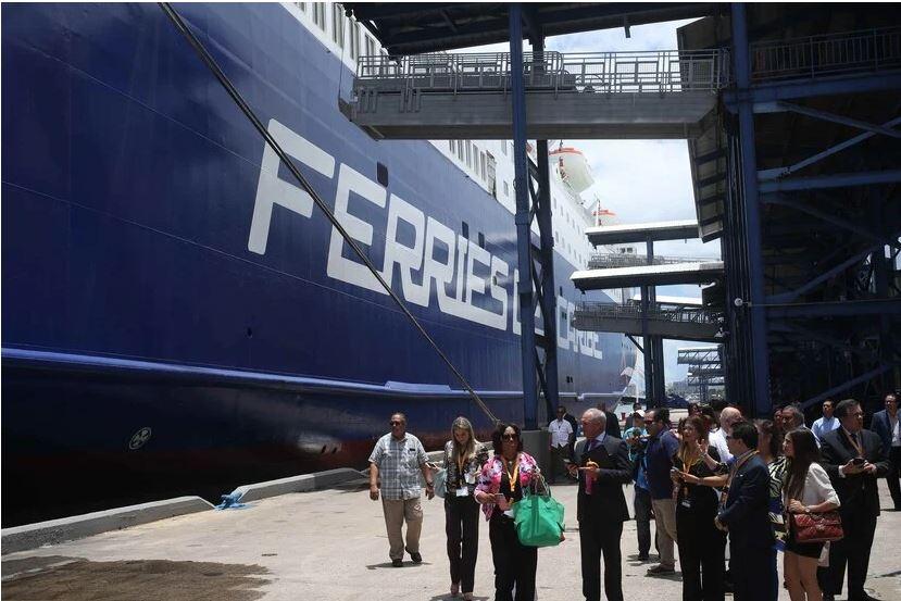 Resultado de imagen para Se reanuda el enlace marítimo entre Puerto Rico y la República Dominicana