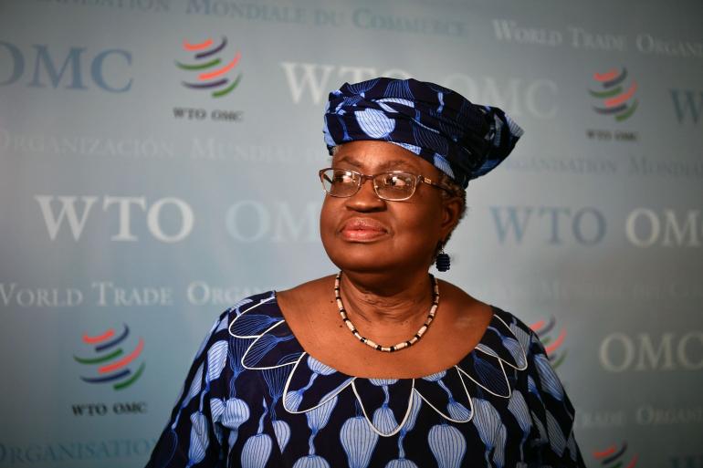 Ngozi Okonjo-Iweala Photographer: Fabrice Coffrini/AFP/Getty Images