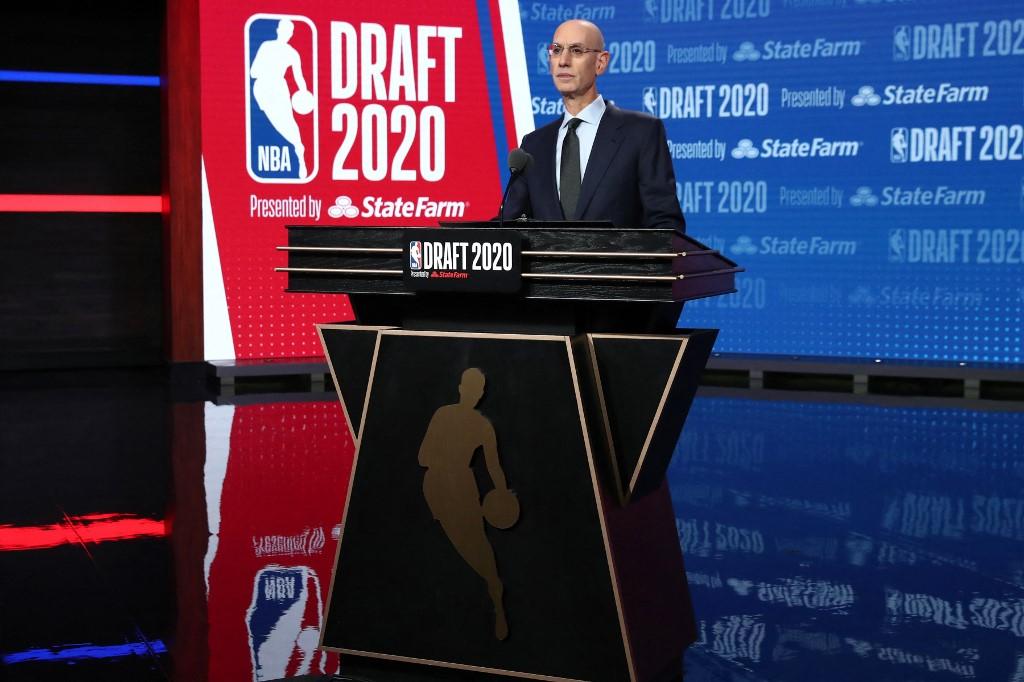 Adam Silver, Comisionado de la NBA.  (Foto: Nathaniel S. Butler / NBAE / Getty Images / Getty Images via AFP)