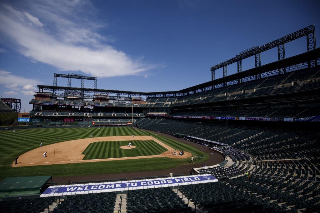 Vista general del Coors Field, hogar de los Rockies de Colorado.   (Foto: Justin Edmonds/Getty Images/AFP)