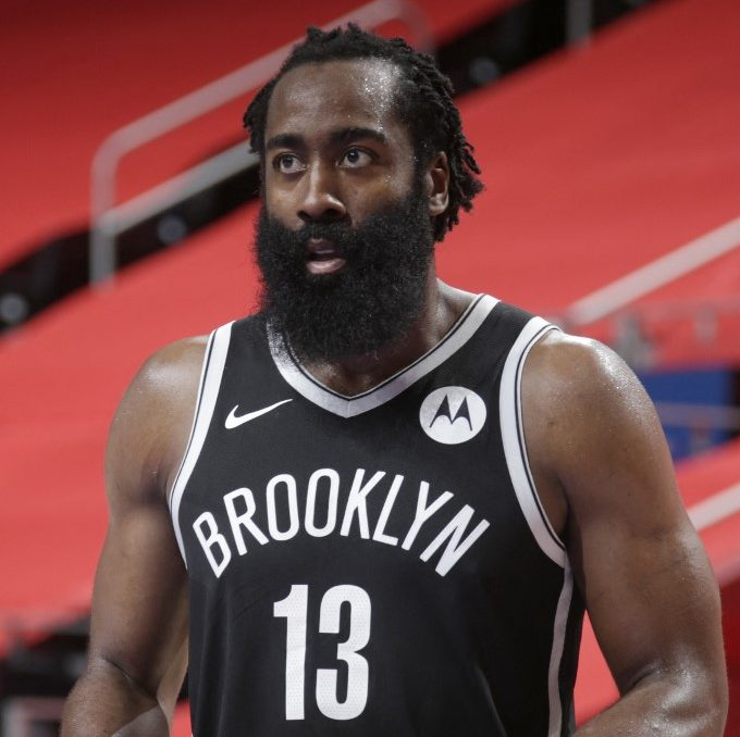 James Harden, de los Brooklyn Nets.  (Foto: Brian Sevald / NBAE / Getty Images / Getty Images via AFP)