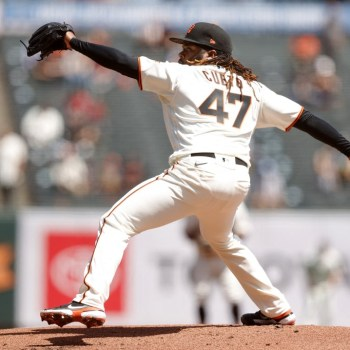 Johnny Cueto, #47 de los San Francisco Giants. (Foto: Ezra Shaw/Getty Images/AFP)