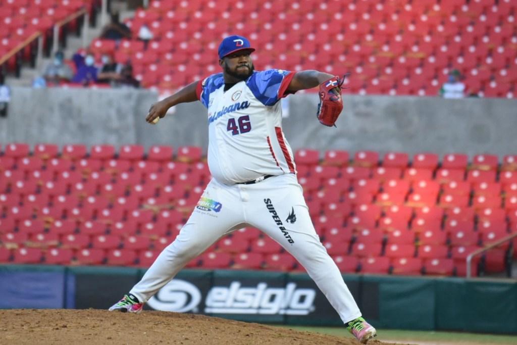 """El lanzador José Rafael """"Jumbo"""" Díaz durante la Serie del Caribe pasada.  (Foto: Fuente Externa)"""