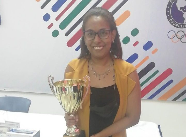 Patricia Castillo, tricampeona nacional de Ajedrez. (Foto: Fuente Externa)