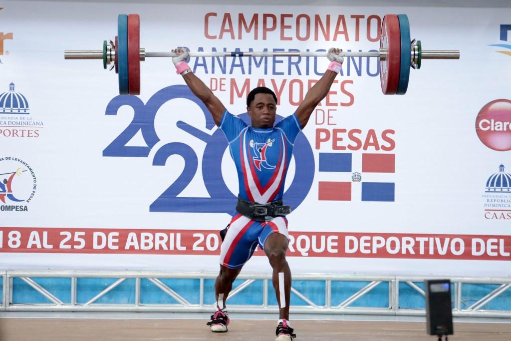 Yeison Michel mostró sus credenciales con tres medallas en el Panam de Pesas. (Foto: Fuente Externa)