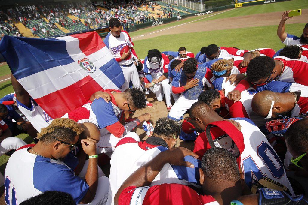 Los dominicanos celebran su pase a los Juegos Olímpicos de Tokio 2020. (Foto: Fuente Externa)