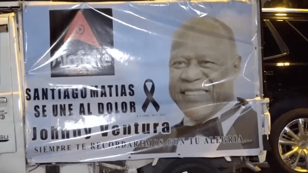 FUNERAL POPULAR A JOHNNY VENTURA MAÑANA EN EL PALACIO DE LOS DEPORTES