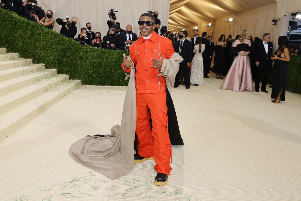 NEW YORK, NEW YORK - SEPTEMBER 13: Romeo Hunte attends The 2021 Met Gala Celebrating In America: A Lexicon Of Fashion at Metropolitan Museum of Art on September 13, 2021 in New York City.   Mike Coppola/Getty Images/AFP (Photo by Mike Coppola / GETTY IMAGES NORTH AMERICA / Getty Images via AFP)
