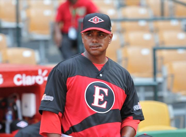Felipe Rojas Jr. es hijo de la leyenda del béisbol dominicano Felipe Rojas Alou