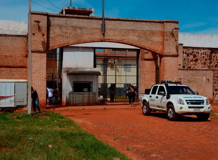 Cárcel Paraguay.