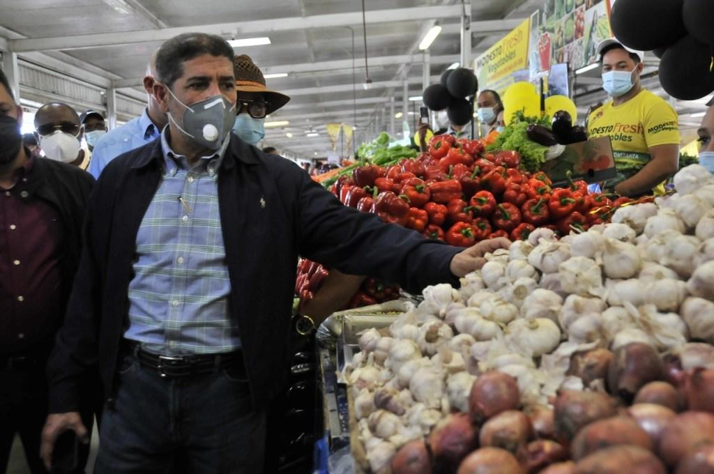 Ministro de Agricultura, Limber Cruz.