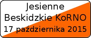 17 października 2015 - Jesienne Beskidzkie KoRNO;