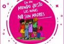 """PehuenCo también se suma a la campaña federal """"En un mundo justo las niñas no son madres"""""""