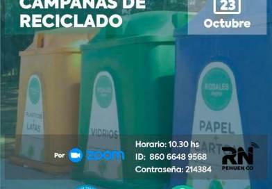 """El viernes 23 el municipio dará taller virtual sobre el funcionamiento de los """"Puntos Limpios"""""""