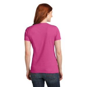 Hanes® – Ladies Nano-T® Cotton V-Neck T-Shirt – S04V