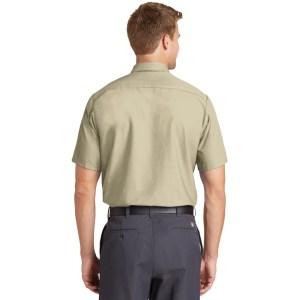 Red Kap® Short Sleeve Industrial Work Shirt – SP24
