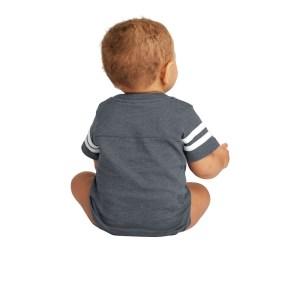 Rabbit Skins™ Infant Football Fine Jersey Bodysuit – RS4437