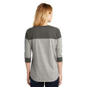 New Era® Ladies Heritage Blend 3/4-Sleeve Baseball Raglan Tee – LNEA104