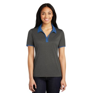 Sport-Tek® Ladies Heather Contender™ Contrast Polo – LST667