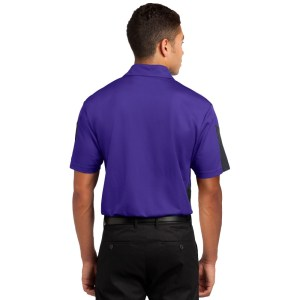 Sport-Tek® PosiCharge® Active Textured Colorblock Polo – ST695