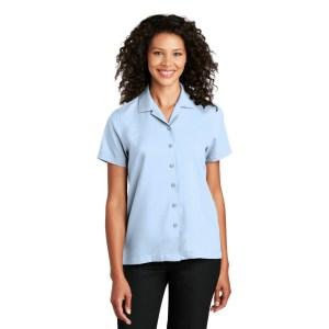 Port Authority ® Ladies Short Sleeve Performance Staff Shirt – LW400