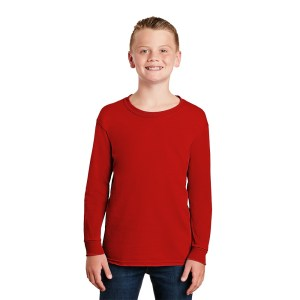 Gildan® – Youth Ultra Cotton® 100% Cotton Long Sleeve T-Shirt – 2400B