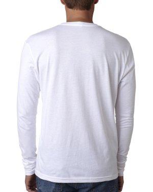 Next Level Men's Cotton Long-Sleeve Crew – N3601