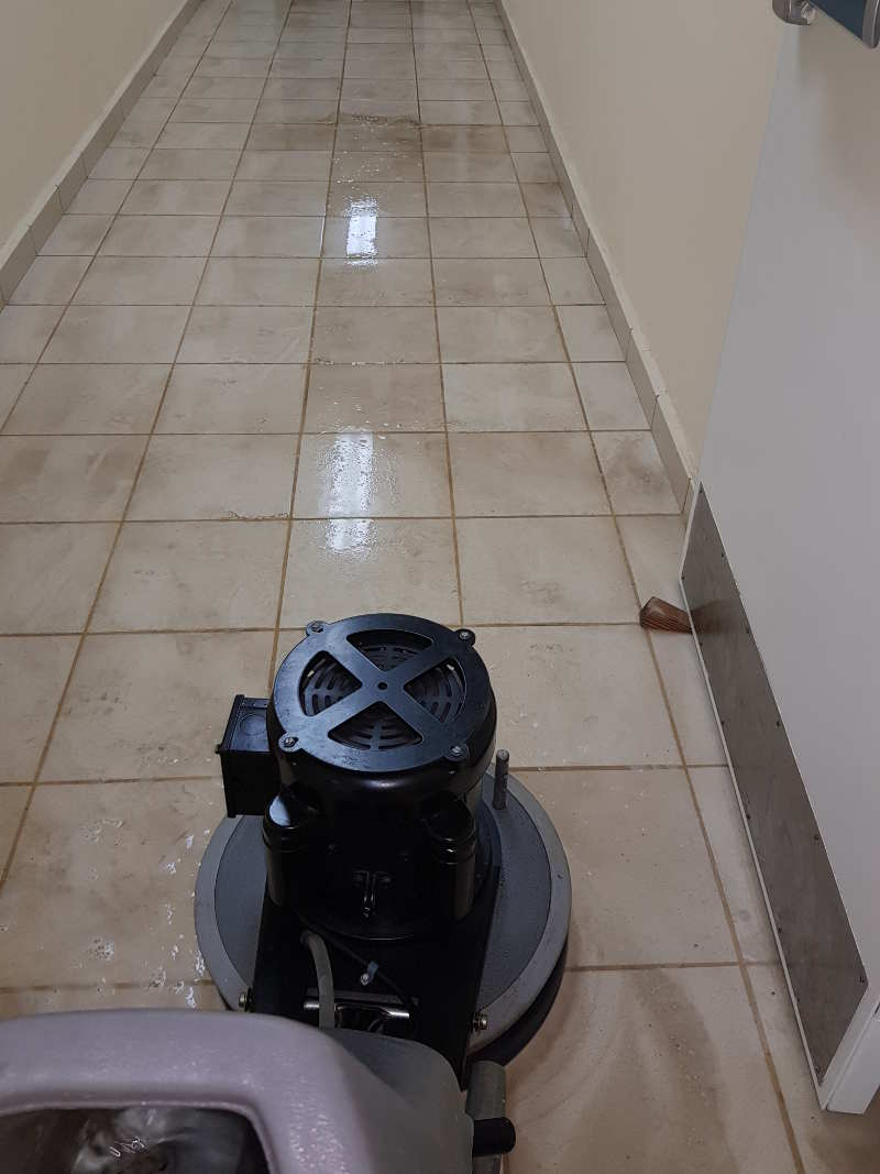 floor stripping and refinishing