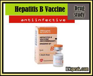 Drug Study:Hepatitis B Vaccine(Recombivax HB)